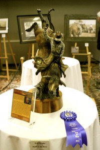 Rank to the Bone Bronze by Reg Parsons Wins Best of Show!